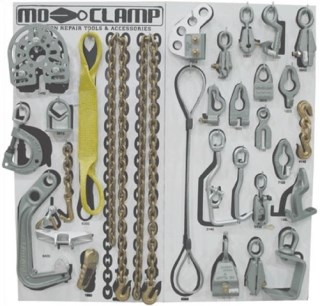 MO-5013 Deluxe Tool Board #1 with Tools