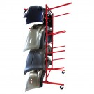 Innovative Mobile Bumper Storage Rack