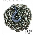 "Chief Style Tower Chain 1/2"" For S-21"