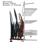 Innovative PANEL TRAIN ATTACHMENT ONLY for Parts Cart (CART IS SEPARATE ITEM!)