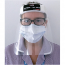 Disposable Face Shield w/ Elastic Headband