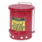 10 Gallon Oily Waste Can w/ Foot Pedal