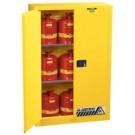 45 Gallon Flammable Cabinet-Manual Close Doors