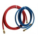 Robinair 34722 9 ft. Red-Blue Enviro Guard Hose Set for 34788 - 34288 - 34134Z (NOT for NI machines)
