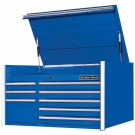 "RX Series 41"" 8-Drawer Top Chest - Blue"