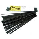 "3/8"" x 1/16"" FiberFlex Sticks-Black-30' (for use with airless plastic welder)"