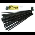 "3/8"" x 1/16"" FiberFlex Sticks-Black-30' (for use with airless plastic welder)"