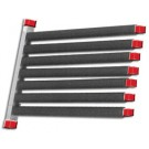 7 Place Windshield Rack per pair